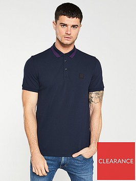 boss-pase-knitted-collar-polo-shirt-navy-blue