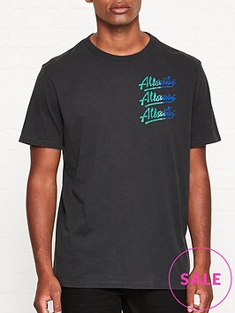 allsaints-alvays-logo-t-shirt-black