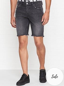 allsaints-denim-shorts-washed-black