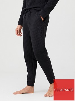 boss-contemporary-cuffed-lounge-pants-black