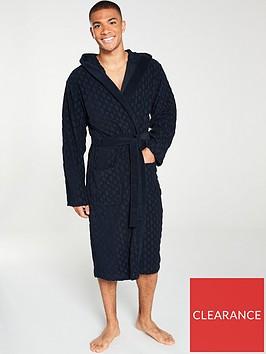 boss-bodywear-logo-towelling-robe-navy
