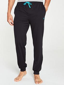 boss-bodywear-lightweight-cuffed-lounge-pants-black