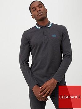 boss-plisy-long-sleeve-tipped-collar-polo-shirt-charcoal