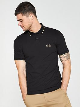boss-paul-slim-fit-stretch-polo-shirt-black