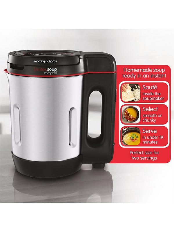Morphy Richards Compact Saute Soup Maker 501027 Very Co Uk Ask a question about morphy richards 48821 in glen d.morphy richards4 weeks ago. compact saute soup maker 501027