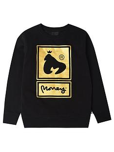 money-boys-super-star-gold-crew-sweat