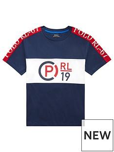 c113cf8ee Ralph Lauren Ralph Lauren Boys Short Sleeve Polo Logo T-shirt