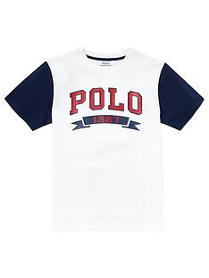 ralph-lauren-boys-short-sleeve-polo-raglan-t-shirt-white