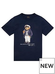 8194036ee Ralph Lauren Ralph Lauren Boys Short Sleeve Bear T-shirt