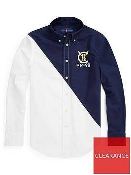 ralph-lauren-boys-long-sleeve-colour-block-shirt-navywhite
