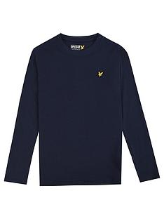 lyle-scott-boys-classic-long-sleeve-t-shirt-navy