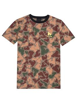 money-boys-short-sleeve-print-t-shirt-camo