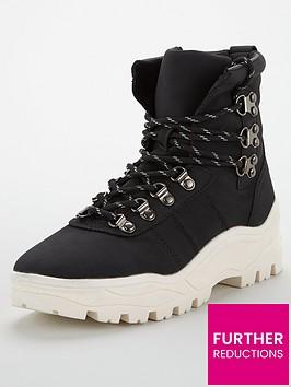 v-by-very-nile-white-sole-hiker-sports-hybrid-boots-blackwhite