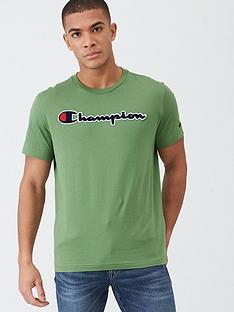 champion-t-shirt-green
