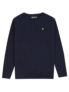 lyle-scott-lyle-scott-boys-classic-crew-neck-sweat