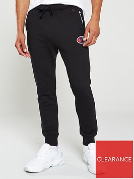 champion-c-logo-joggers-black