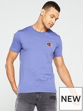 champion-c-logo-t-shirt-blue