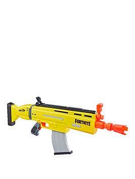 Nerf Fortnite Ar-L Motorised Nerf Elite Dart Blaster