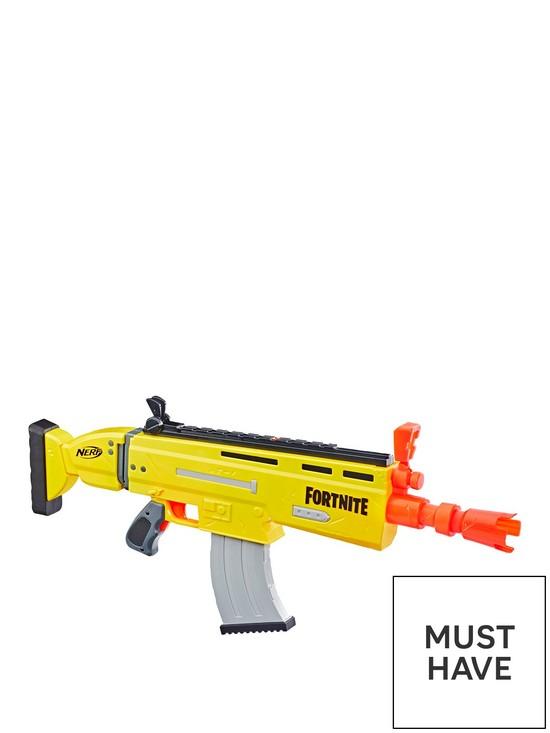 Fortnite AR-L Motorised Nerf Elite Dart Blaster