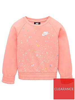 nike-nike-childrens-girls-starry-night-sweatshirt-pink