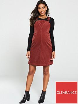mama-licious-nassau-maternity-corduroy-pinafore-dress-maroon
