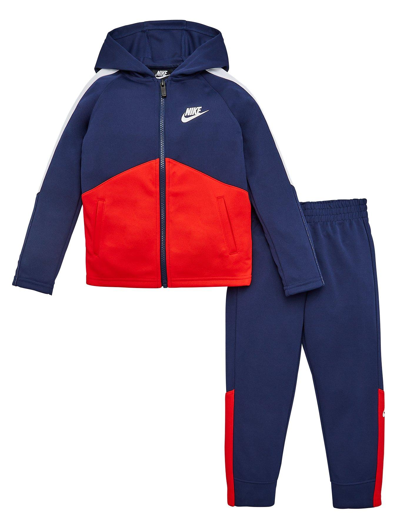 Details about Nike Boys Red Plain Hoodie Age 12 13