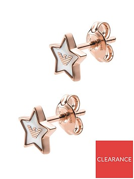 emporio-armani-emporio-armani-rose-gold-plated-sterling-silver-logo-star-ladies-stud-earrings