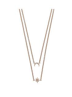 emporio-armani-emporio-armani-rose-gold-plated-sterling-silver-moon-and-star-double-layer-ladies-necklace