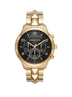 michael-kors-michael-kors-runway-mercer-black-sunray-chronograph-dial-gold-stainless-steel-ladies-watch
