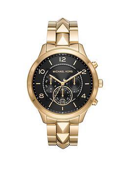 michael-kors-michael-kors-runway-mercer-black-sunray-chronograph-dial-gold-stainless-steel-ladies-watch