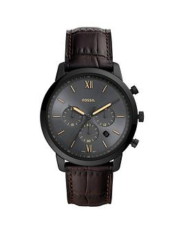 fossil-fossil-neutra-gunmetal-and-luminous-detail-chronograph-dial-brown-leather-strap-mens-watch