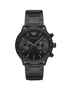 emporio-armani-black-chronograph-dial-black-stainless-steel-brushed-detail-bracelet-mens-watch