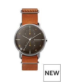 skagen-skagen-horizont-gunmetal-grey-dial-brown-leather-strap-mens-watch