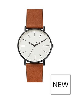 skagen-skagen-signatur-silver-and-black-detail-45mm-dial-brown-leather-strap-mens-watch