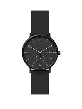 skagen-skagen-aaron-kulor-black-41mm-dial-black-silicone-strap-watch