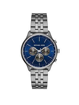 michael-kors-michael-kors-sutter-blue-and-grey-detail-chronograqh-dial-gunmetal-grey-stainless-steel-bracelet-mens-watch