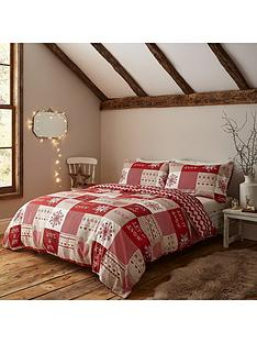 catherine-lansfield-let-it-snow-christmas-duvet-cover-set