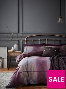 catherine-lansfield-berwick-tweed-duvet-cover-set