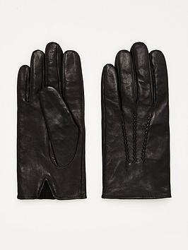boss-grifin-leather-gloves-black