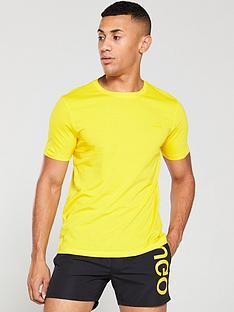 hugo-dero194-t-shirt-yellow