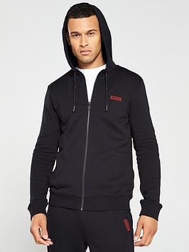 hugo-daple194-full-zip-hoodie-black