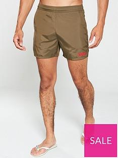 hugo-kuba-swim-shorts-khaki