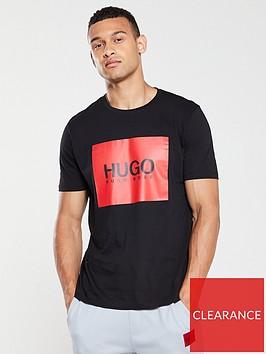hugo-dolive194-logo-t-shirt-black
