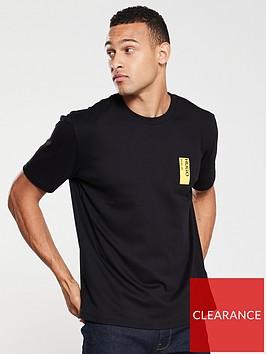 hugo-deoul-back-print-t-shirt-black