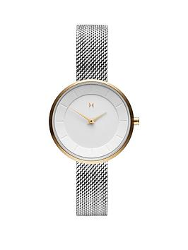 mvmt-mvmt-mod-white-and-gold-detail-28mm-dial-stainless-steel-mesh-strap-ladies-watch