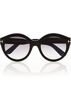 tom-ford-rosanna-round-sunglasses-black