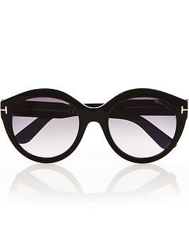 tom-ford-rosanna-round-sunglasses-black
