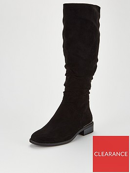 v-by-very-tamsin-wide-fit-knee-high-flat-slouch-boots-black