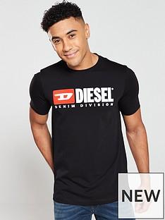 diesel-t-just-division-logo-t-shirt-black