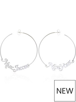 marc-jacobs-logo-hoop-earrings-silver